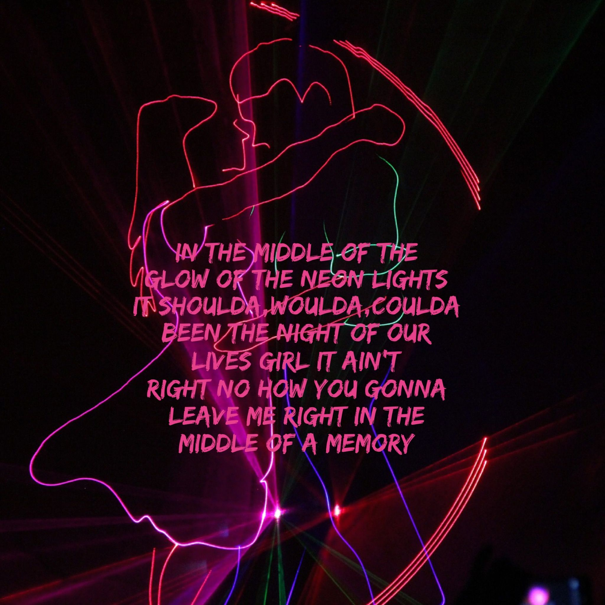 """Middle of a Memory"" by Cole Swindle lyric edit EvaLand"