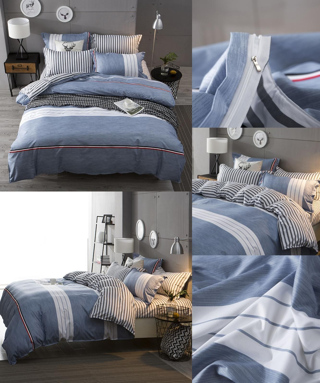 [Visit to Buy] USA Russian Europe Size Bedding set Double