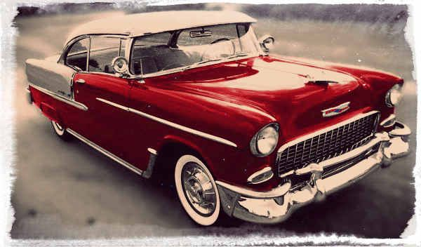 Image result for 1950s car