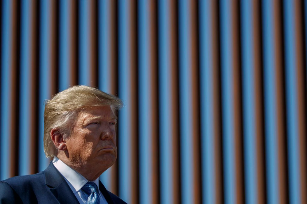 Smugglers are sawing through new sections of Trump's