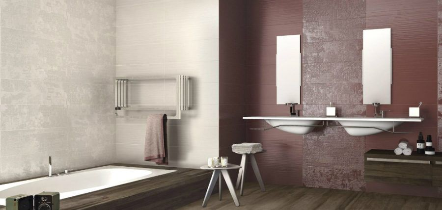 Contemporary modern Italian tiles from Supergres