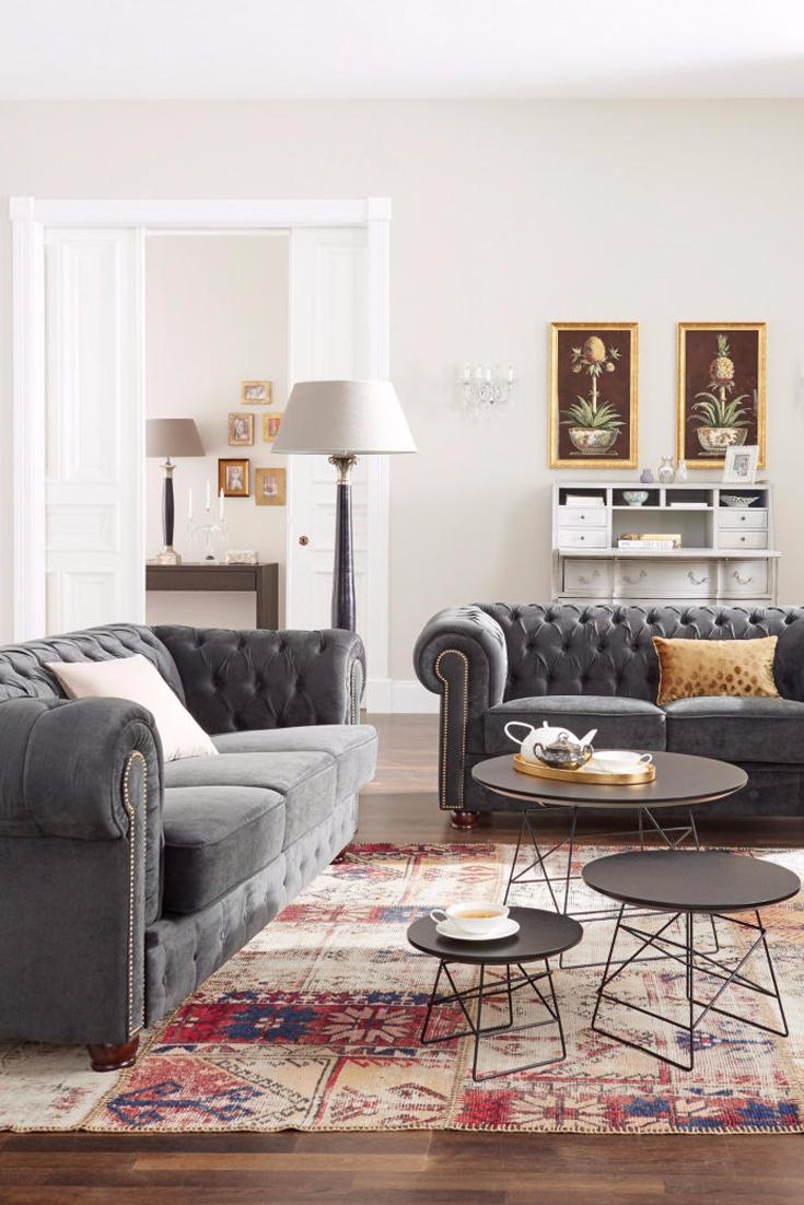 entspannte tee zeremonie auf der couch wohnzimmer otto pinterest englische stil. Black Bedroom Furniture Sets. Home Design Ideas