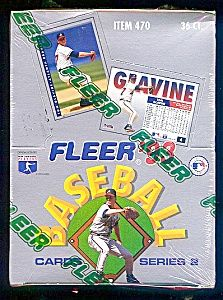 1993 Fleer Series Two Baseball Cards Full Box Things