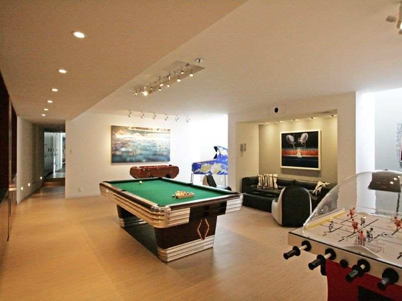 Man Cave Game Room Would Be Great On A Landing At Top Of A Stair