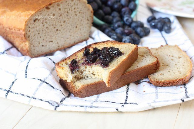 The best grain-free, gluten-free, Paleo & SCD bread from Danielle Walker of Against All Grain. Danielle brings the recipe to you so you can make it at home.