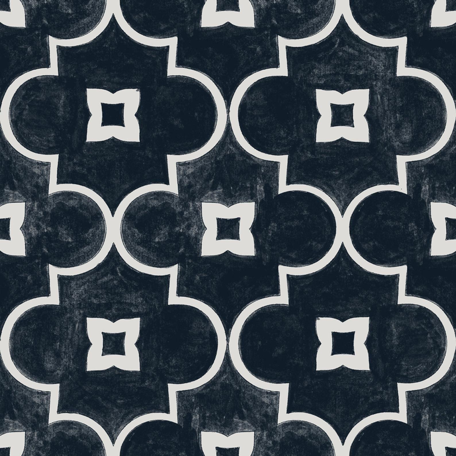 Kitchen and Bathroom Splashback - Removable Vinyl Wallpaper - Arabelle Black - Peel & Stick #bathroomsplashback Kitchen and Bathroom Splashback Removable Vinyl Wallpaper | Etsy #bathroomsplashback