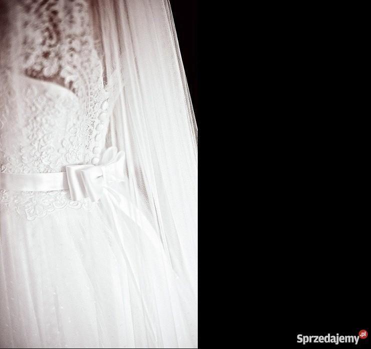 Koronkowa Suknia Slubna Princessa Nabla 36 Sprzedajemy Pl Wedding Dresses Dresses One Shoulder Wedding Dress