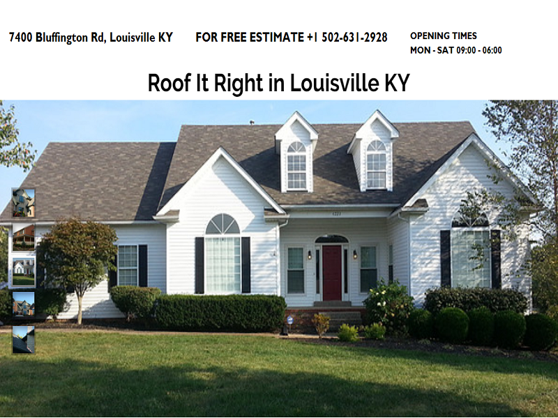 Roof It Right Llc Is A Premier Roofing Company In Louisville Ky Our Company Has Years Of Expertise I Roofing Contractors Roofing Companies Roofing