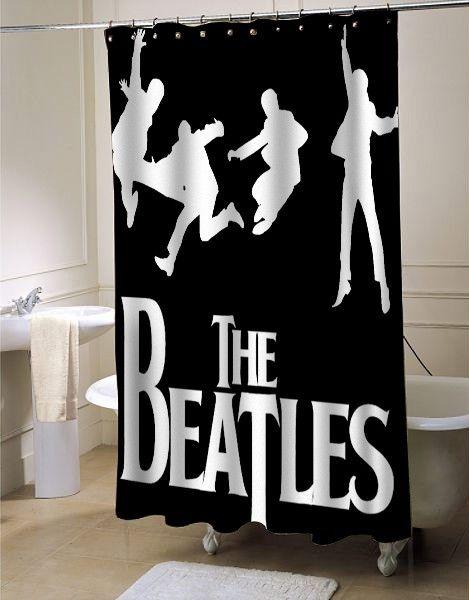 The Beatles Shower Curtains Beatles Room Decor Beatles Room