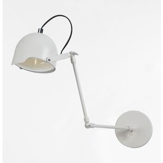 Angelo Home Cooper White Task Wall Sconce Wall Lamps With Cord Modern Wall Lamp Wall Lights Bedroom