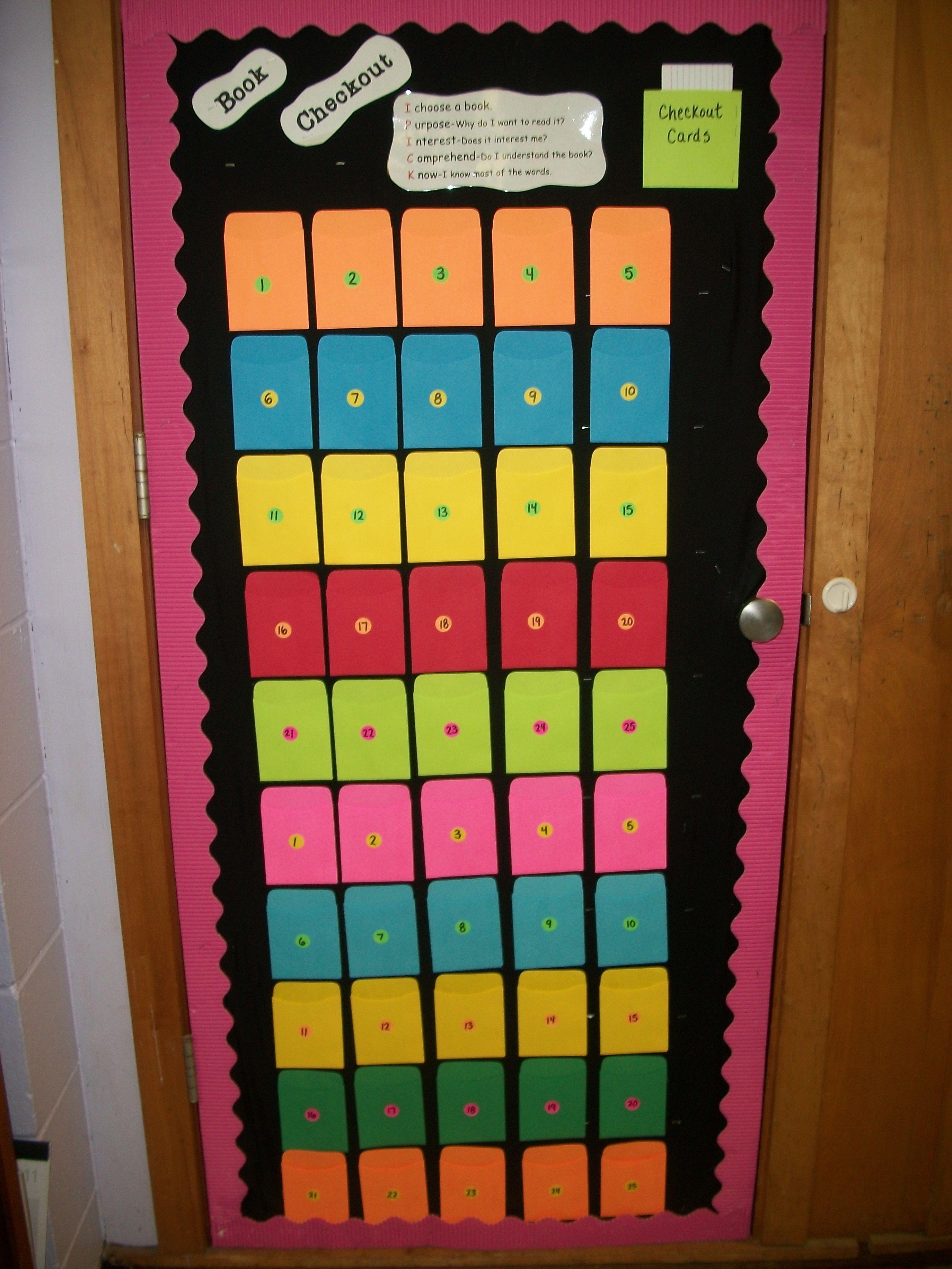 6th Grade Classroom Organization