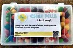 Happy Pills and Chill Pills: Free Printable labels  #chill #happy #labels #pill #schrottwichtelnideen