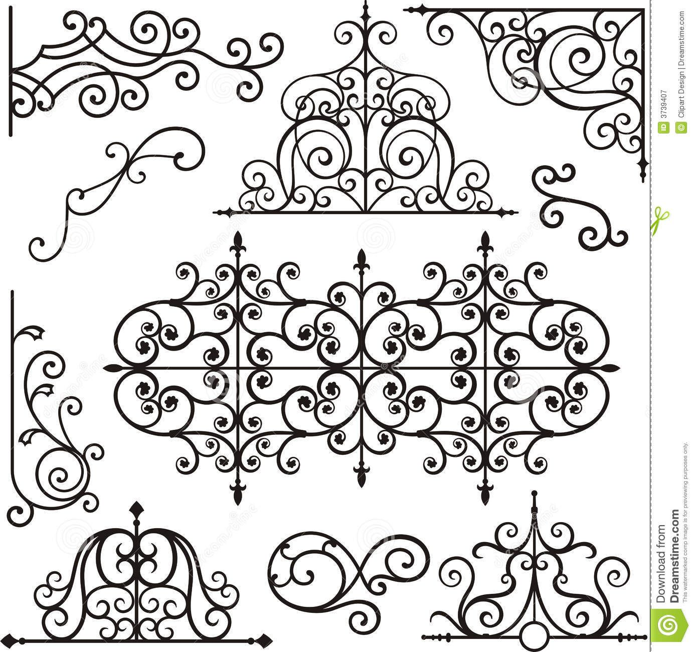 Wrough Iron Ornaments Download From Over 63 Million High Quality Stock Photos Images Vectors Sign Up For Wrought Iron Design Wrought Iron Style Faux Iron