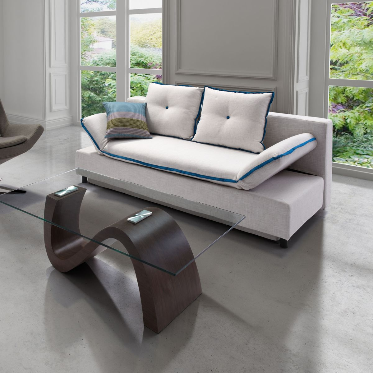 Loveseat sleeper sofa a perfect functional yet