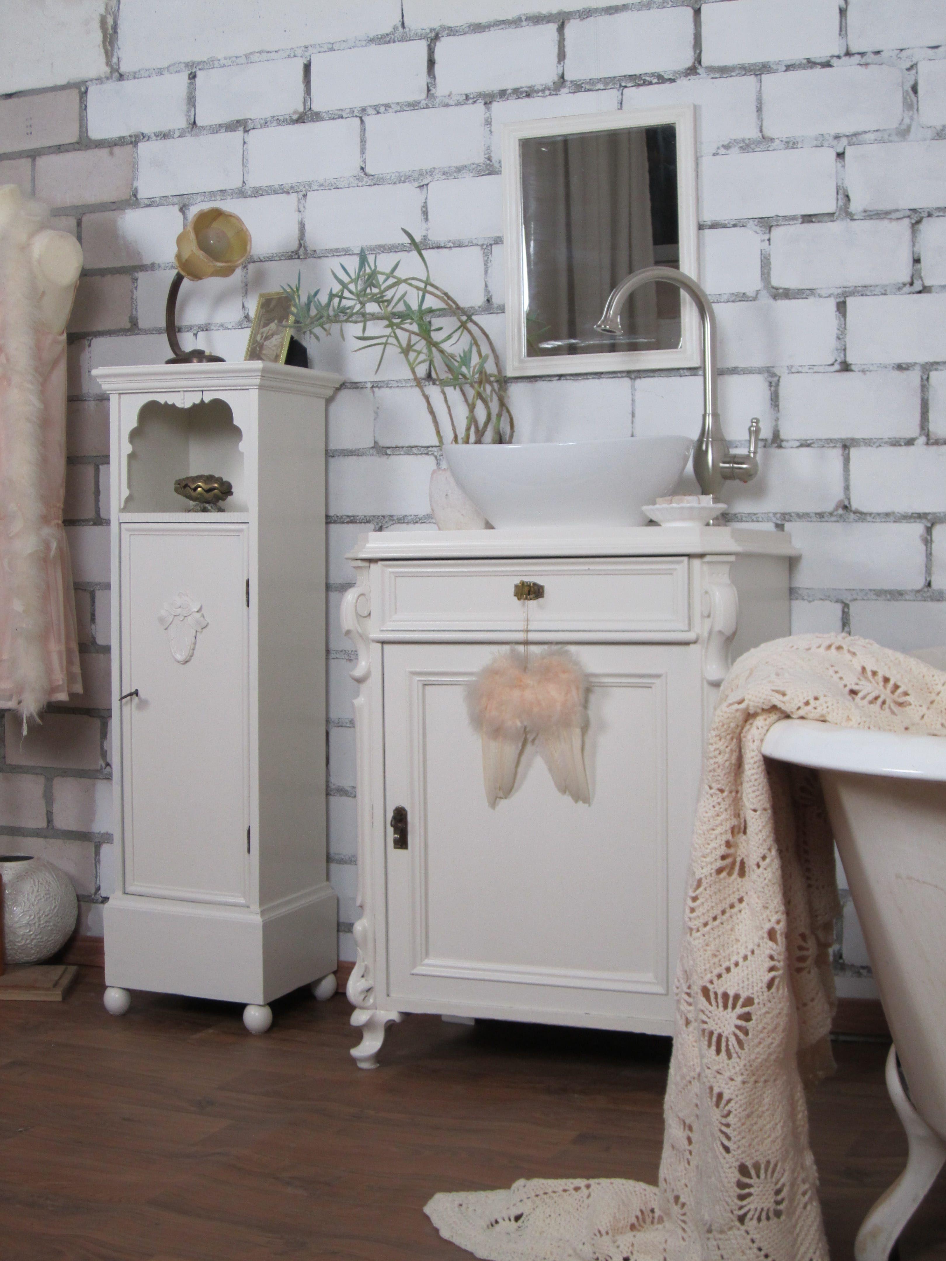 Verkauft Hommage aux blanc Badmöbel im Landhausstil