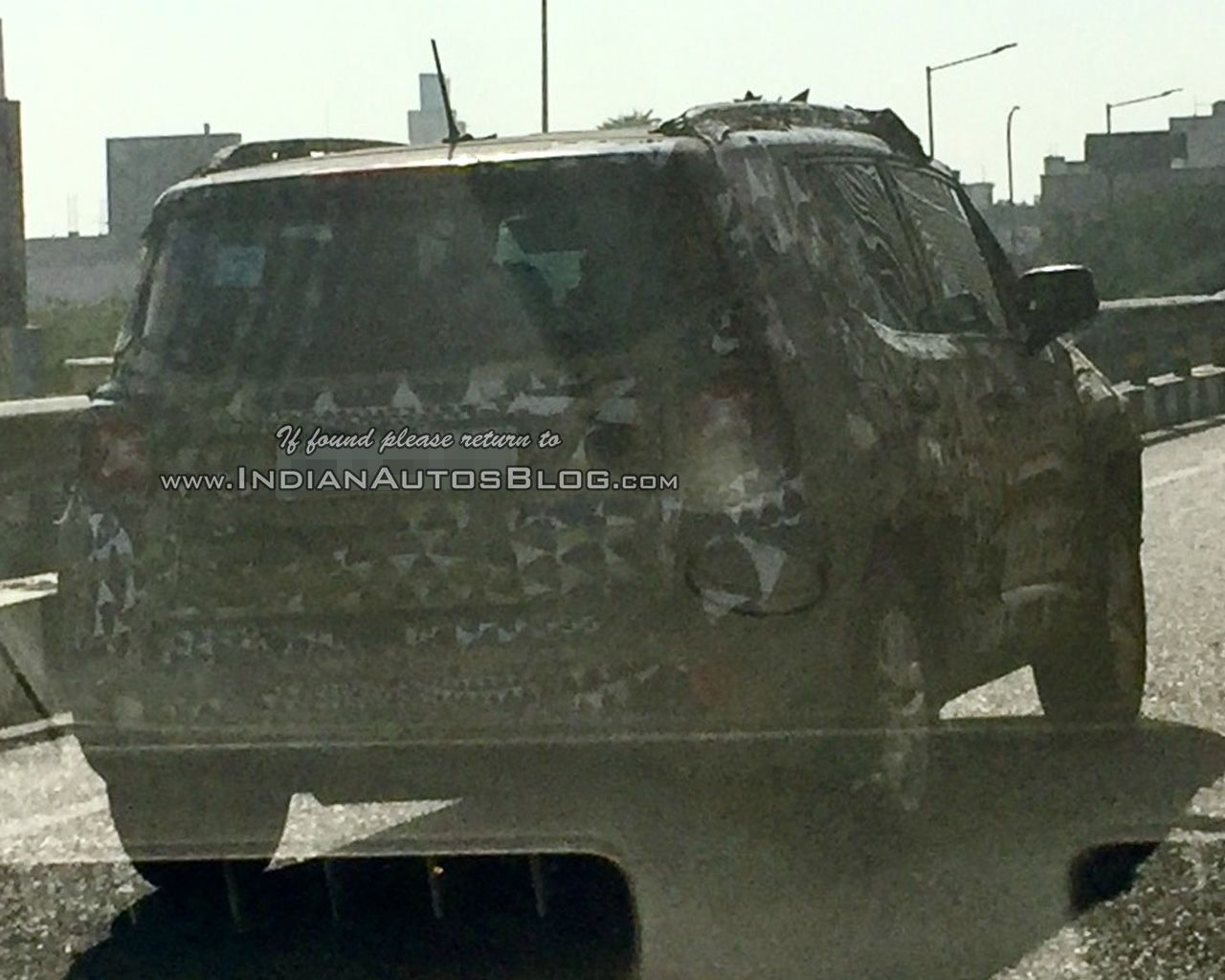Iab Reader Nirmal Kumar Spots The Jeep Renegade Testing On Nh 8