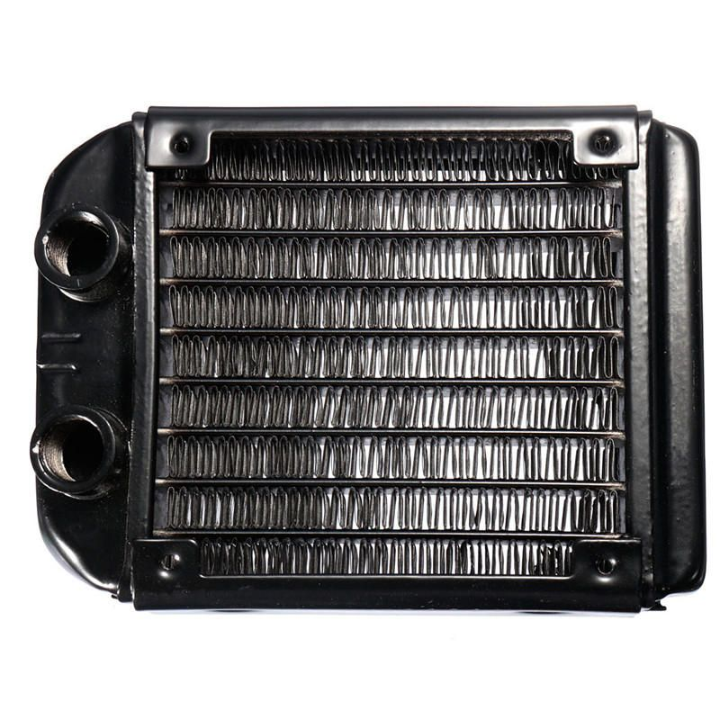 Us 12 87 G1 4 Aluminum 8 Tube 120mm Computer Water Cooling