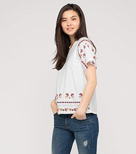 T Shirt In Der Farbe Cremeweiss Bei C A Mode Plus Size Kleidung Modestil