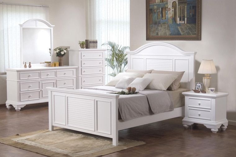 Amazing Shabby Chic White Bedroom Furniture Design Ideas