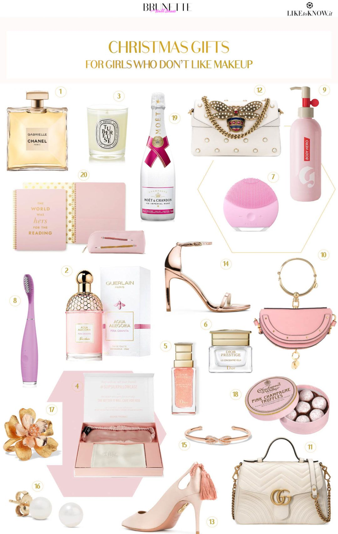 20 Gifts For A Girl Who Doesn T Like Makeup Luxury Gifts For Her Luxury Christmas Gifts Christmas Gifts For Girls
