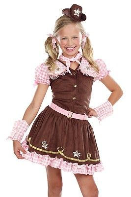 Amscan Child Rodeo Cutie Cowgirl Costume
