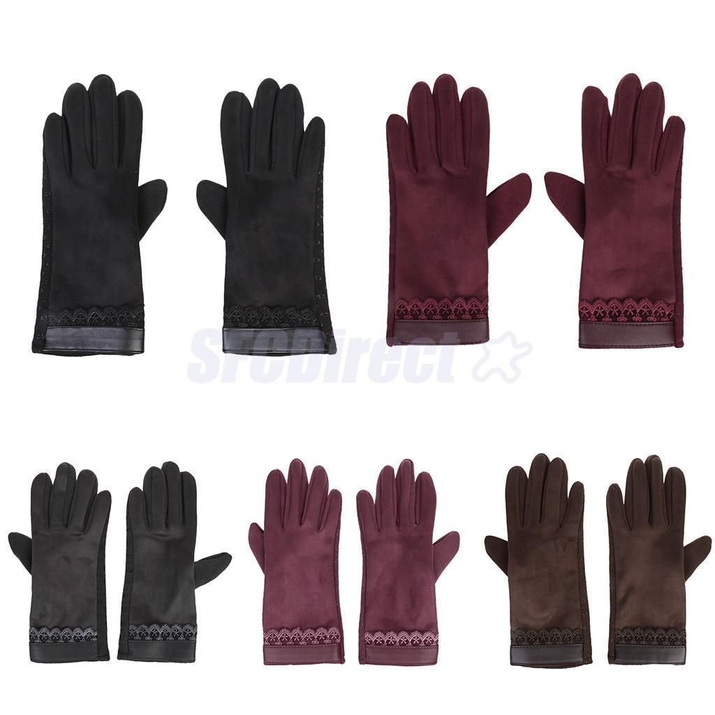 Fashion Women\'S Winter Warm Gloves Touch Screen Sport Ski Gloves ...