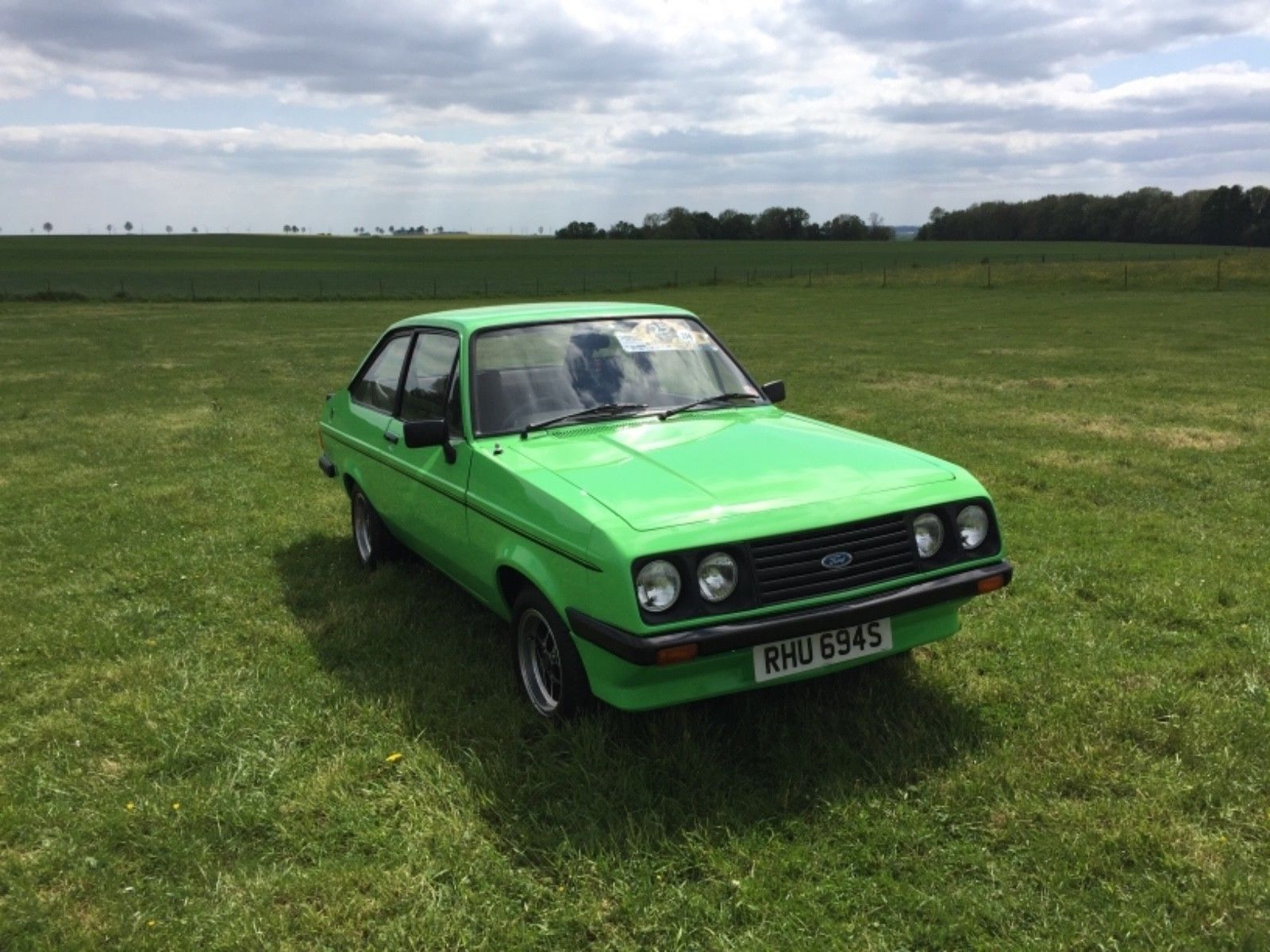 This ford escort rs2000 mk2 1977 is for sale.   Fast Fords ...