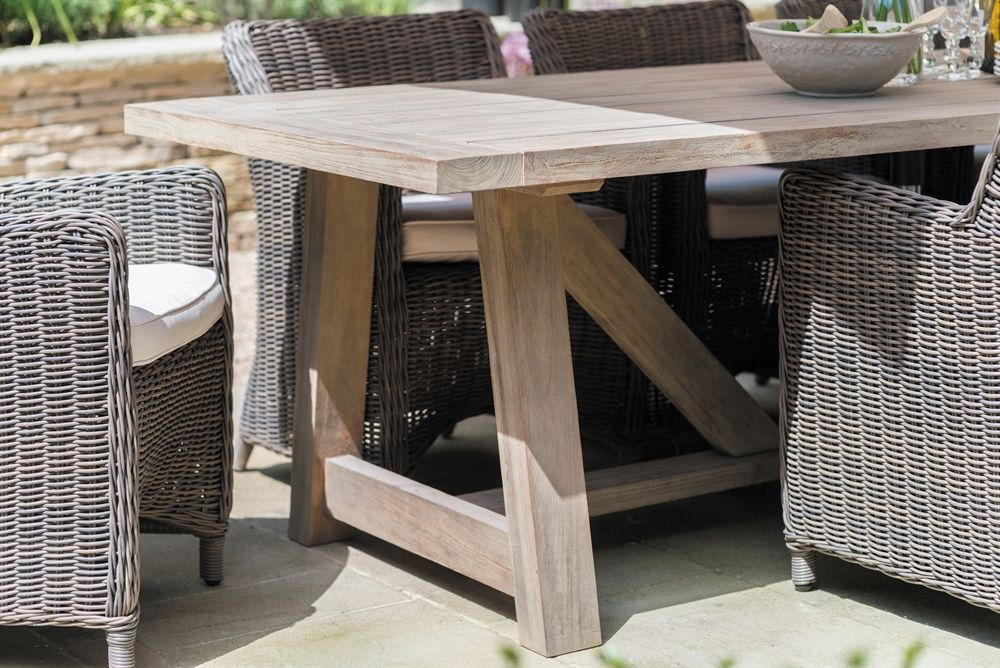 neptune tuscany 8 seater table with images  table