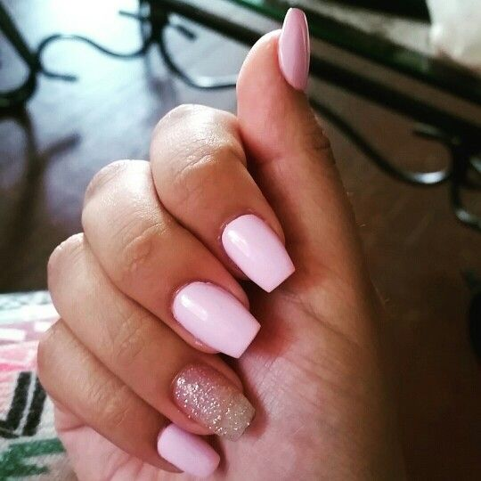 Short Coffin Simple Nail Design Simple Nails Short Acrylic Nails Designs Acrylic Nail Designs