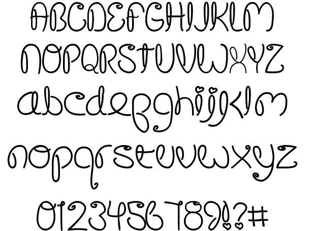 Crushed Out Girl Font