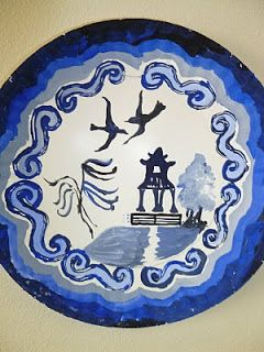 Chinese Willow Pattern Plates Willow Pattern Chinese Crafts