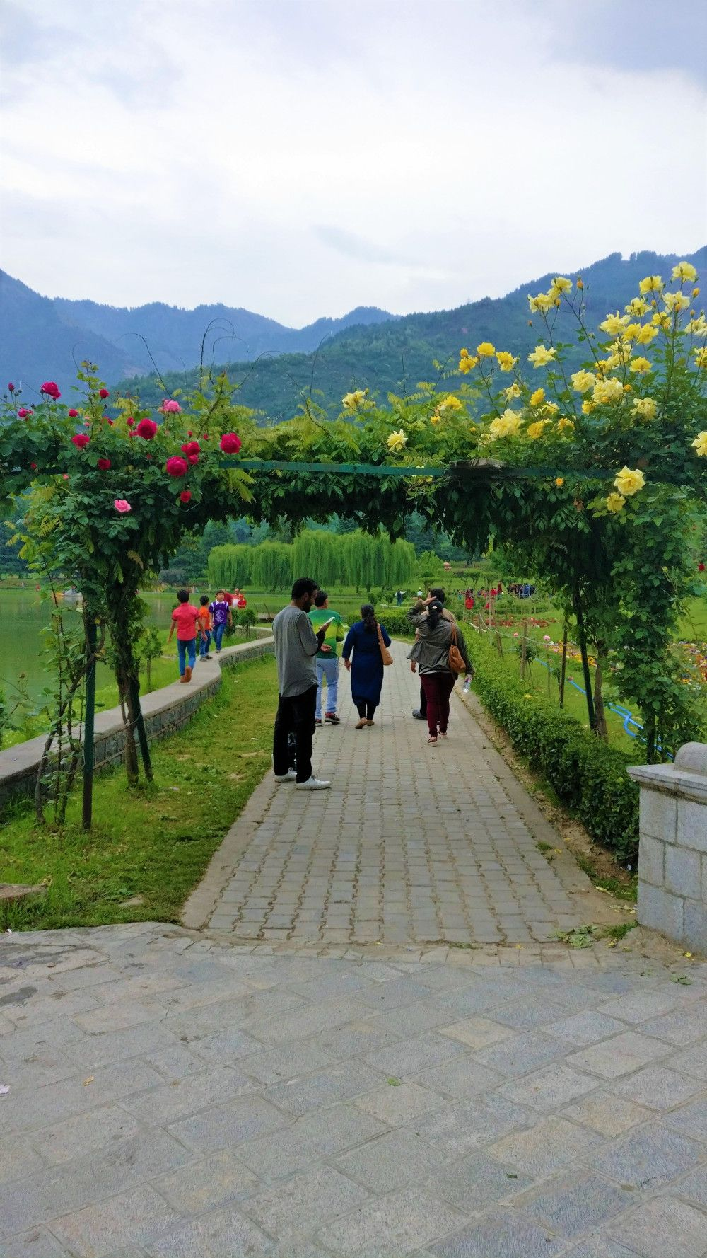 Srinagar the summer capital of jammu kashmir india travel beautiful flowers and trees lush green gardens and terraced terrains in the lap of mountains zabarwan ranges thats the beauty of srinagar izmirmasajfo