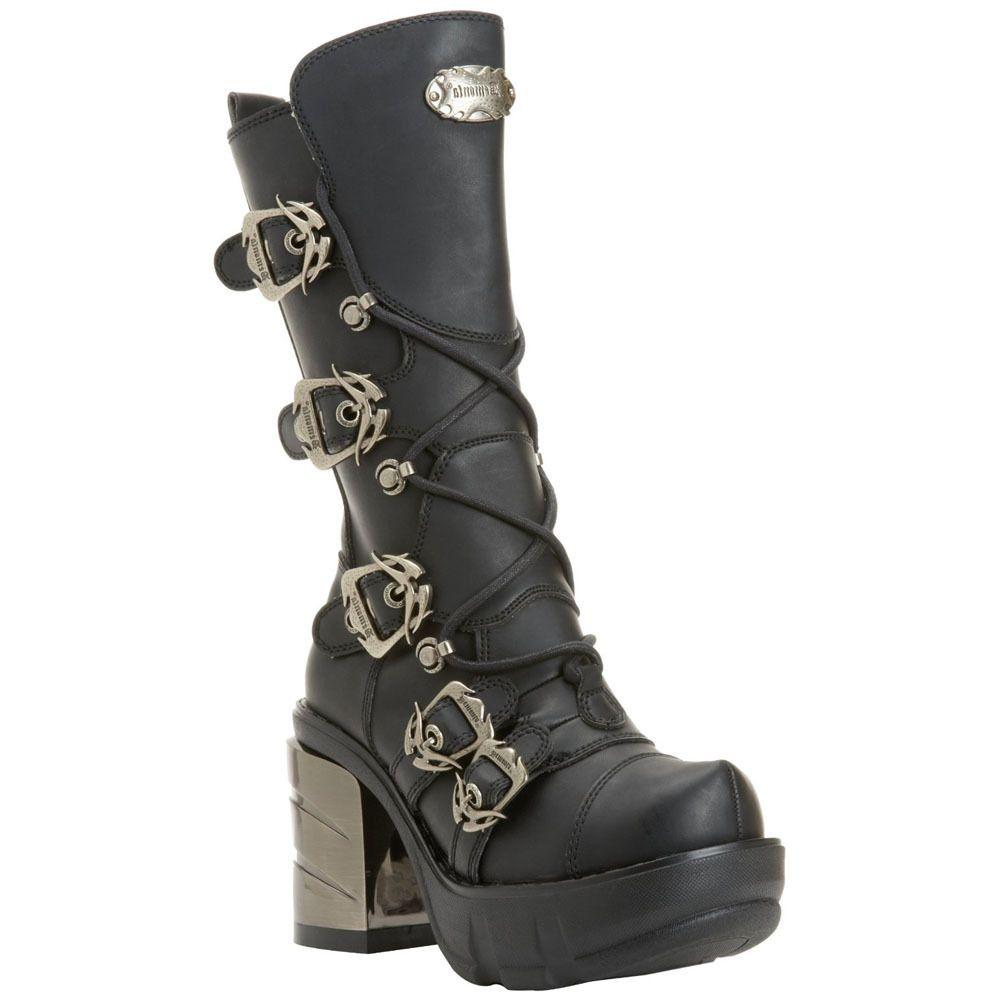 Demonia Charade 150 Lace-Up Knee-High Platform Boot (Women's)