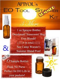 Actively Participate In Your Own Life: Essential Oil Tool Kits!