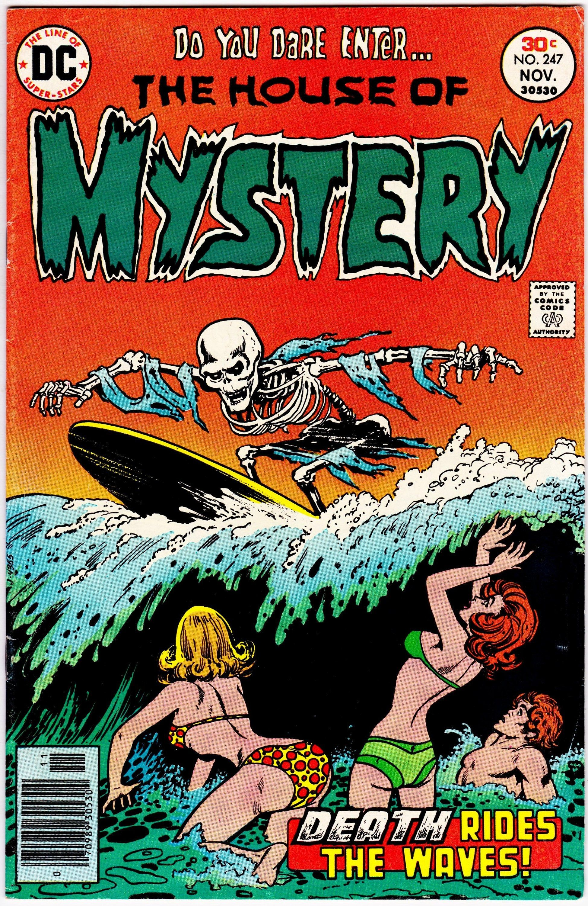 House Of Mystery #247 (1st Series 1951-1983) March 1977 DC
