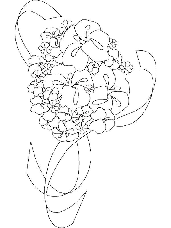 coloring page Marry and Weddings - Marry and Weddings | Wedding ...