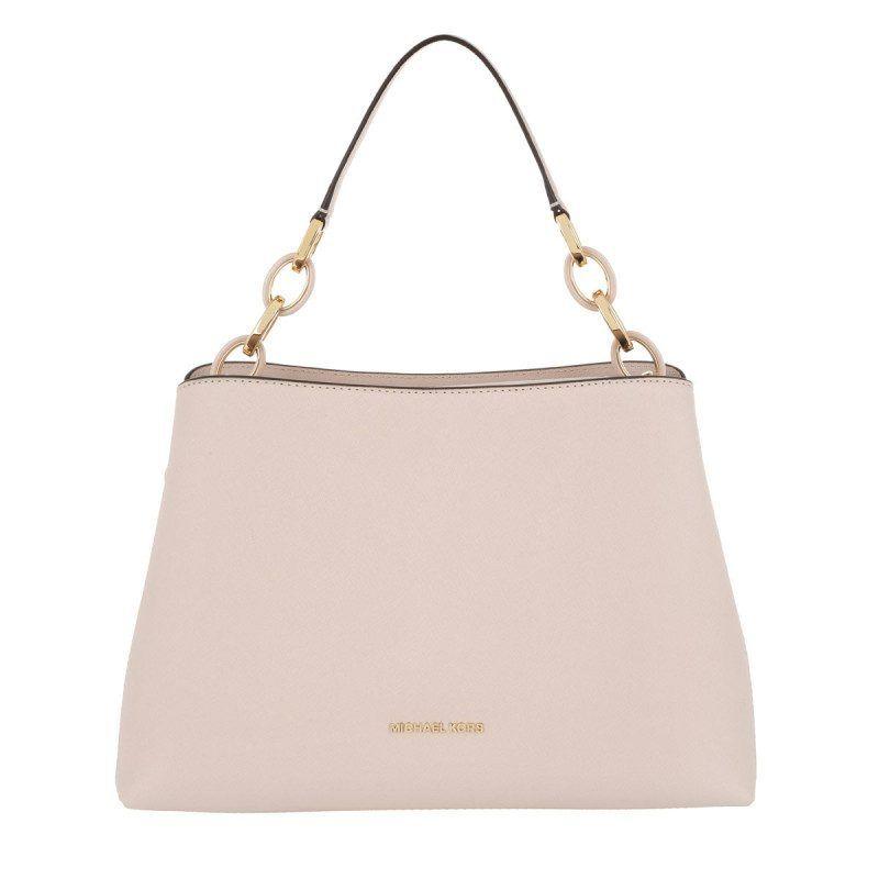 06b42fc6f3c98 Michael Kors Michael Kors Tasche – Portia Satchel Leather Soft Pink – in  gold