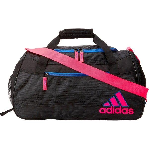 adidas Women's Squad II Club Bag, Black/Solar Pink/Bright Royal, 10 x 21 x  adidas