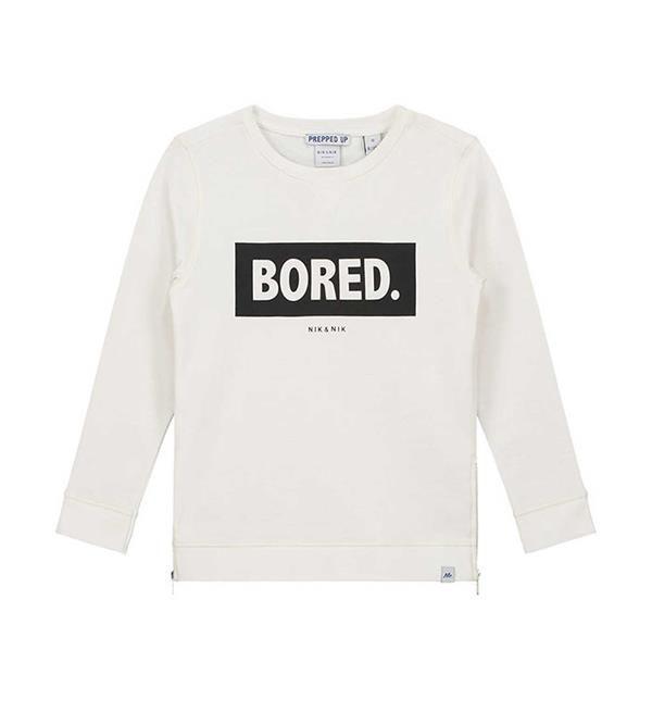 Nik and Nik sweater Bored, model Delano. Deze comfy sweater