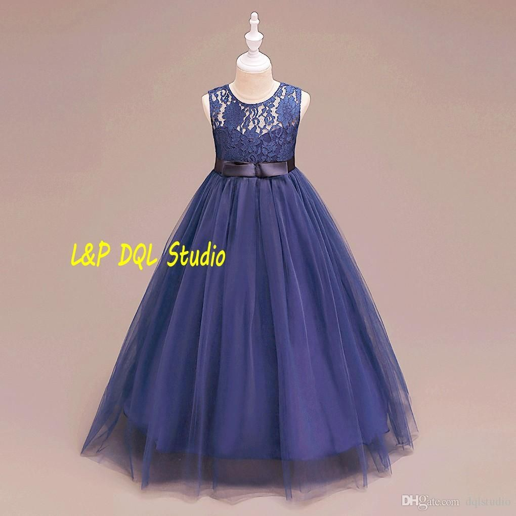 Champagne flower girls dresses purplenavy blue girls party dresses champagne flower girls dresses purplenavy blue girls party dresses ball gown tulle skirts lace top zipper back girls party dresses cheap girls pageant izmirmasajfo