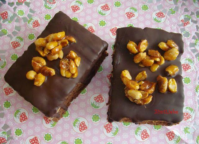 Erdnussbutter-Schoko-Brownies