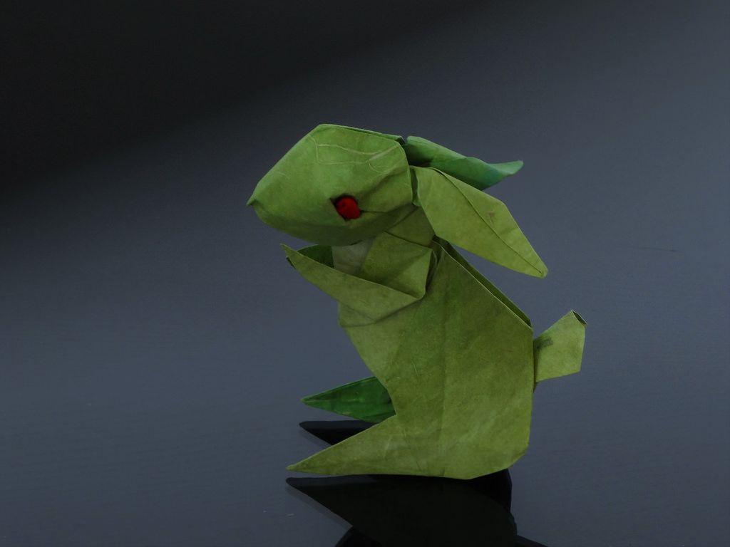 夏日清凉兔兔Rabbit - Jun MAEKAWA by Origami Wind