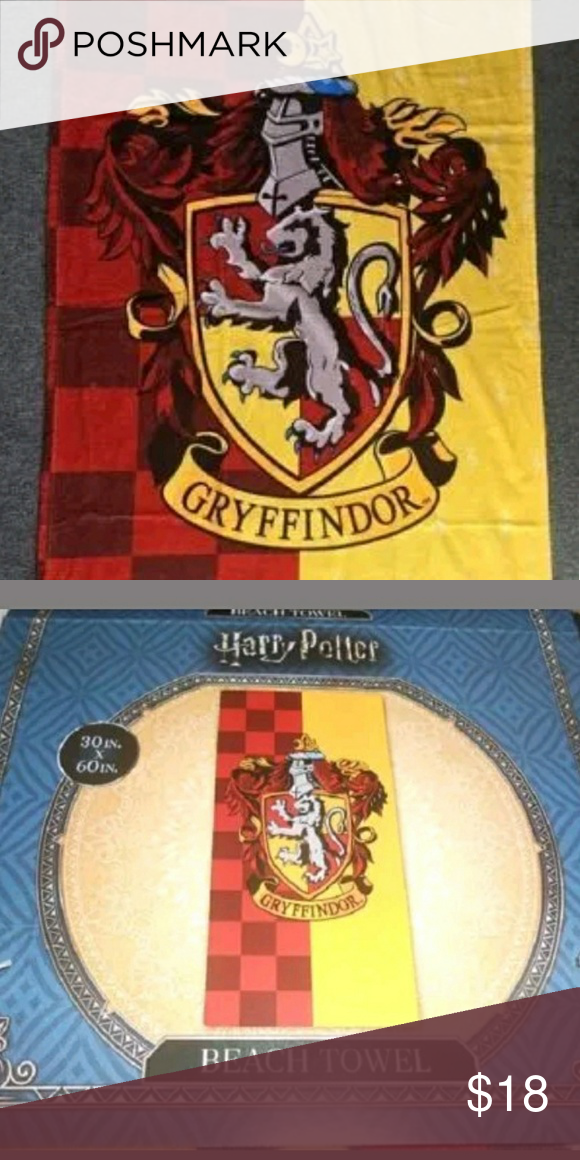 Last One Harry Potter Gryffindor Beach Towel Boutique Harry