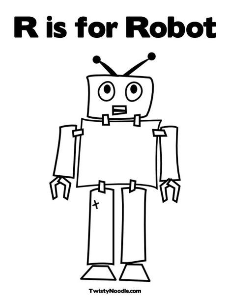 pro-putt-domo-domo-robo-coloring-pages | Free coloring pages ... | 605x468