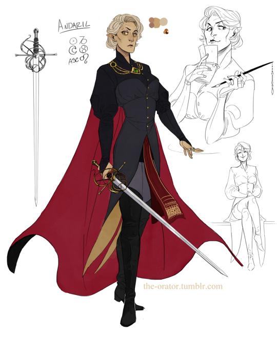 A (kind of) representation of an  adult Commander Victoria Kanut