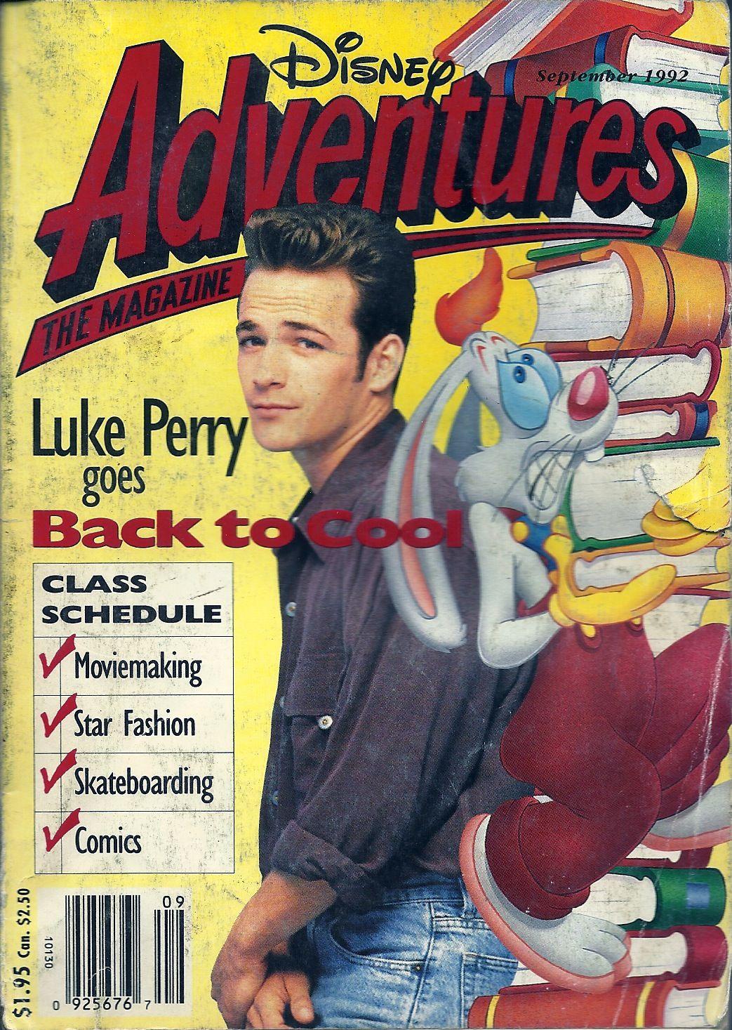 Disney adventures september 1992 adventure magazine