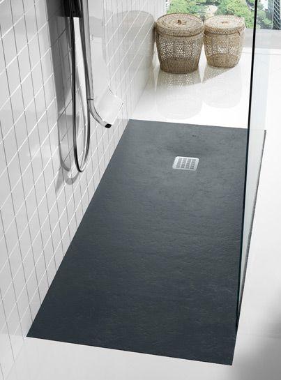 receveurs de douche en b ton de r sine gelcoat salle de bain pinterest douche salle de. Black Bedroom Furniture Sets. Home Design Ideas