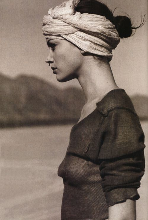 Serge Barbeau, No idea who she is, but this is gritty, in a pretty way.