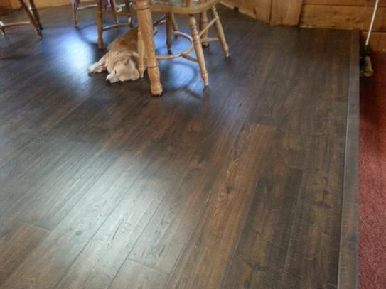Pergo Outlast And Java Scraped Oak 10 Mm Thick X 6 1 8 In