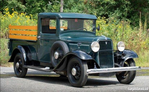1934 Ford V 8 Closed Cab Pickup Truck Pickup Trucks Ford Pickup